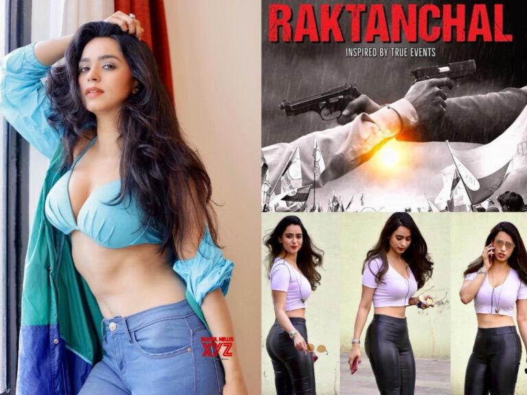 "Soundarya Sharma Steps Into OTT With Action-Packed ""Raktanchal"""