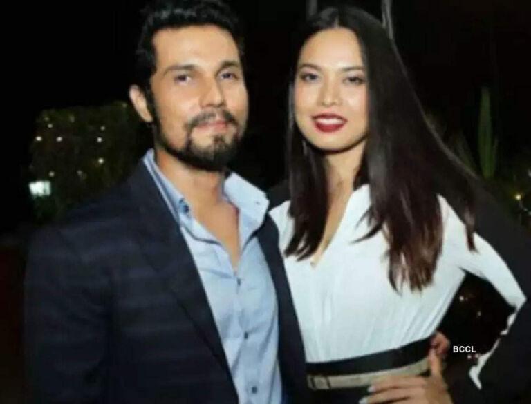 Meet Randeep Hooda's New Girlfriend Lynn Lasharam