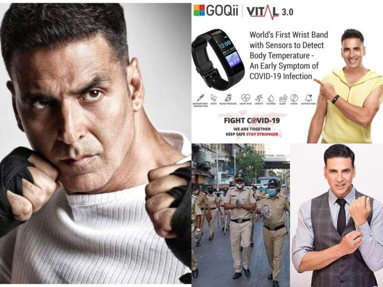 Akshay Kumar Distributes One Thousand Wrist Band To Mumbai Police That Can Detect COVID-19