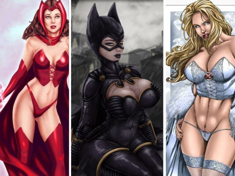 Hottest Comic Book Characters Of All Time