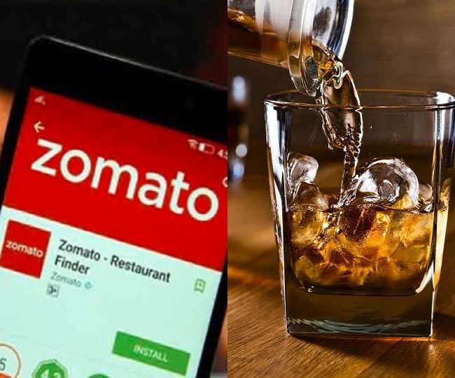 ZOMATO To Do Whisky And Beer's Home Delivery In India During Lockdown