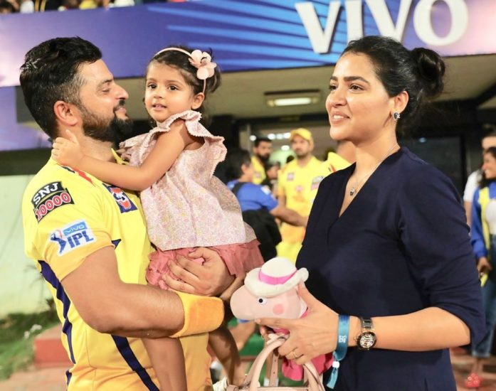 Unbelievable Secret Of Suresh Raina's Wife Which She Did To Marry Him