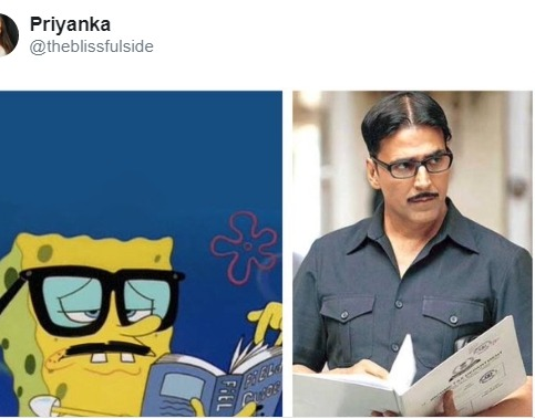Akshay Kumar Spongbob Meme Will Make you Laugh: Checkout