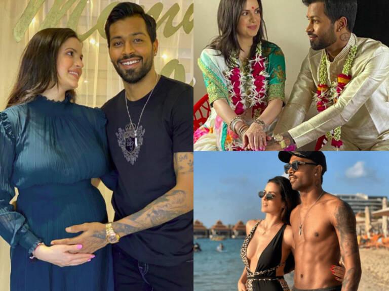 Hardik Pandya's Wife Natasha Stankovic Is Pregnant, Shares Baby Bump