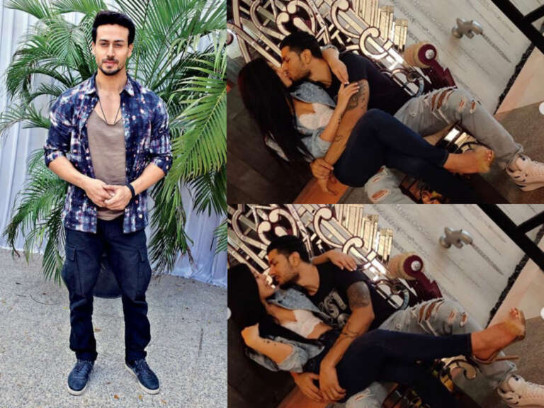 Tiger Shroff's Amusing Reaction On 'LIPLOCK' Of Krishna Shroff