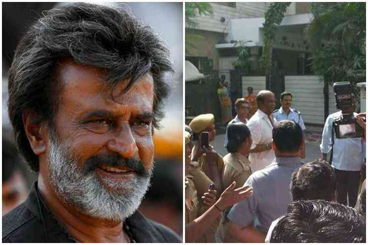 Superstar Rajinikanth Receives Bomb Threat In His House