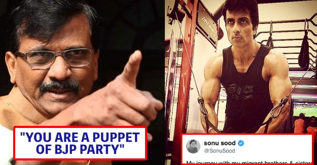Sonu Sood is a Puppet of BJP Party – Sanjay Raut