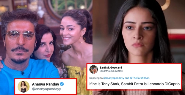 Netizens Brutally Trolled Ananya Panday For Comparing Her Dad To 'Tony Stark'