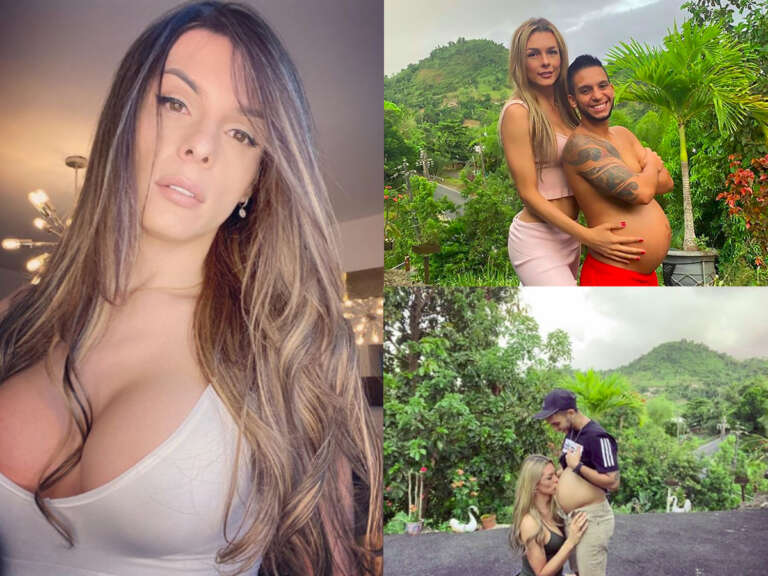LGBT Model Danna Sultana Shares Photo Of Kissing Her Husband's 8-Month Baby Bump