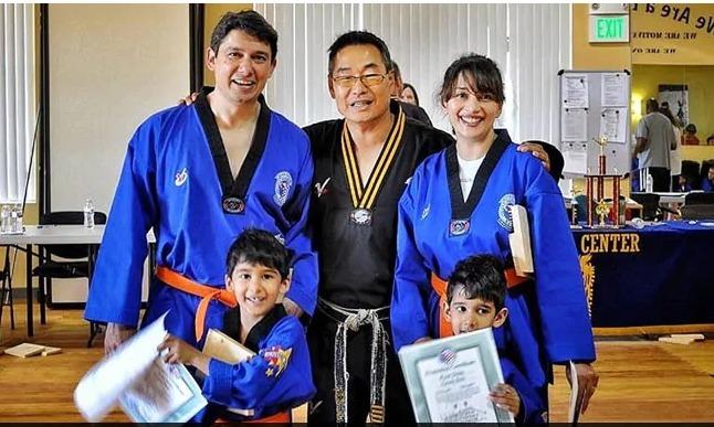 Madhuri Dixit Shares Throwback Pictures Of Taekwondo Training