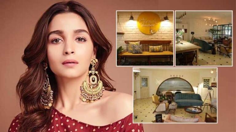 Sneak Peek Into Alia Bhatt's New Office