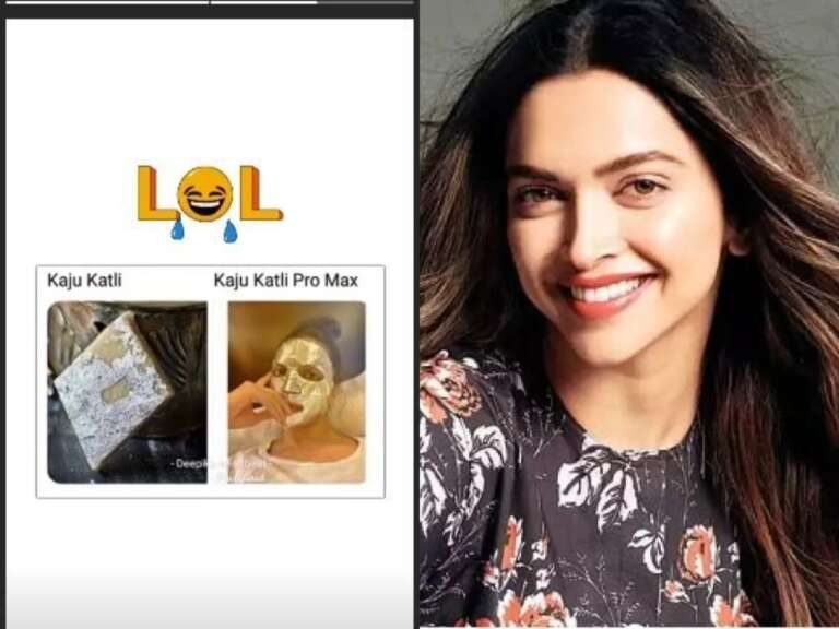 Deepika Padukone Called Herself Kaju Katli Here's Why