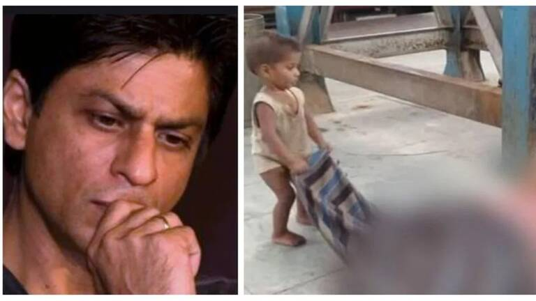 Shah Rukh's Foundation Helped A Toddler At Muzaffarpur station