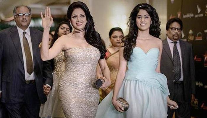 Janvi Kapoor Cheering On Late Sridevi's Dance Performance