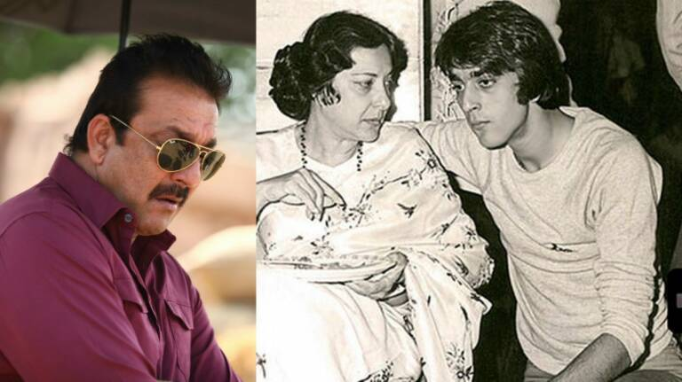 Sanjay Dutt Shares Throwback Picture With His Mom