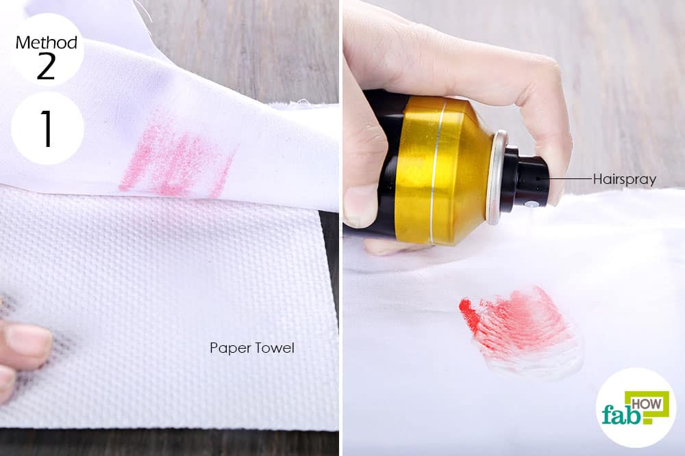 How to Remove Lipstick marks