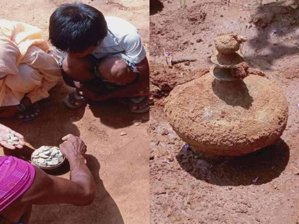 Mughal period coins found