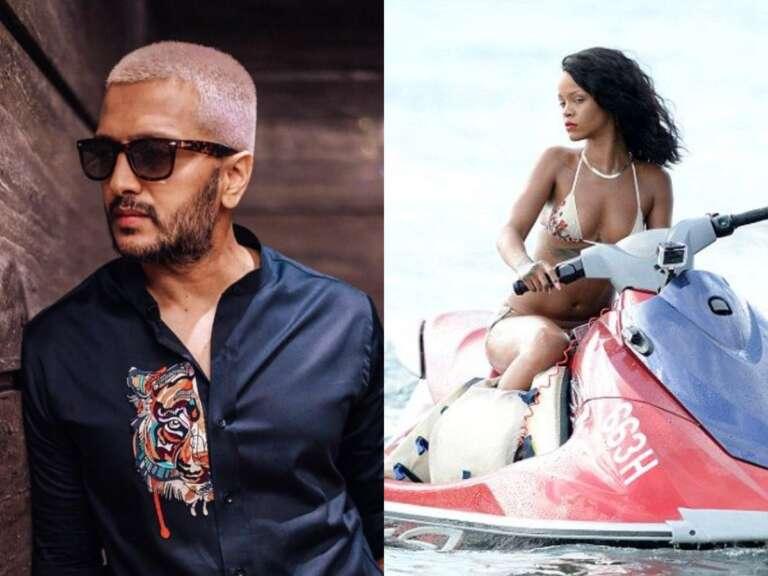 Riteish Deshmukh  Posted A Viral Meme On American Singer Rihana