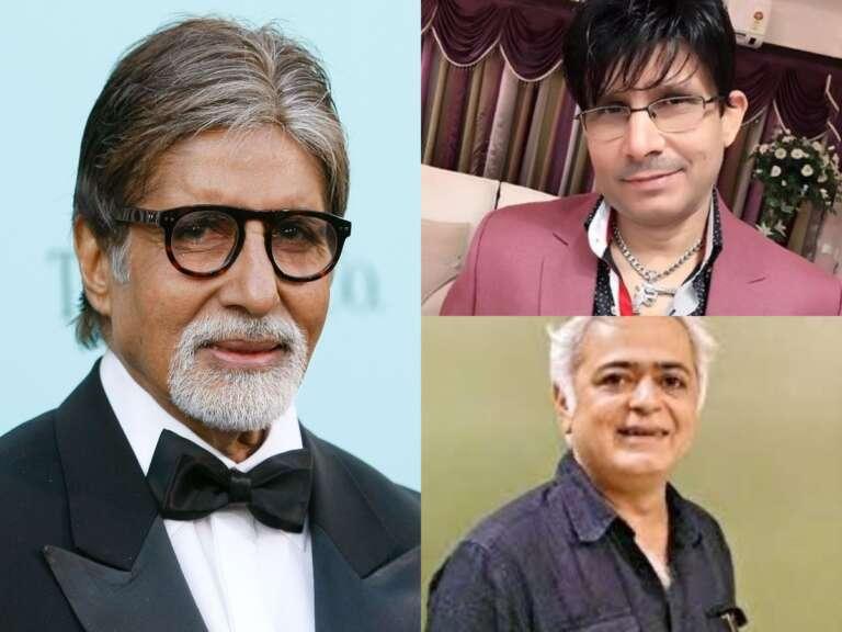 Filmmaker Hansal Mehta Appeals Amitabh Bachchan To Unfollow KRK