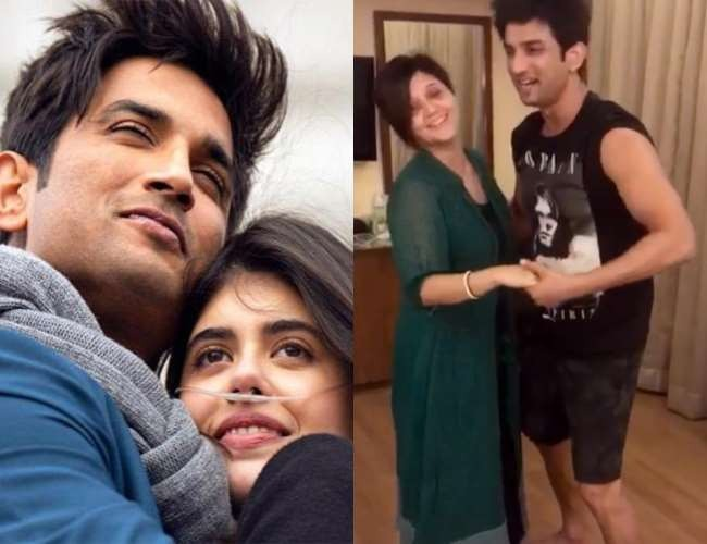 Sushant Singh's BTS Video While Shooting Dil Bechara