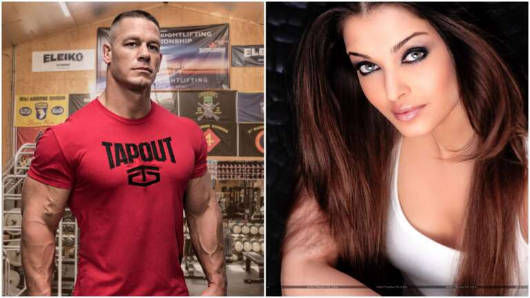 WWE Star John Cena Shares Aishwarya's Picture, Post-Viral