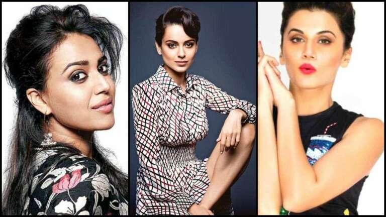 Taapsee And Swara's Reply After Kangana Called Them B-grade Actresses