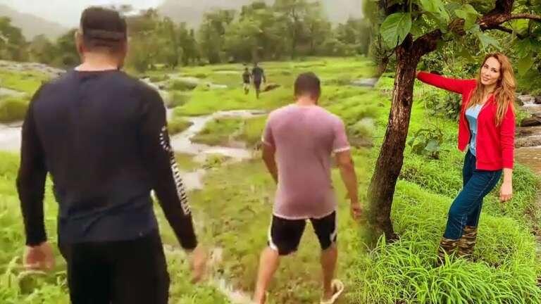 Salman Khan And Iulia Vantur Enjoying Monsoon: Watch Video