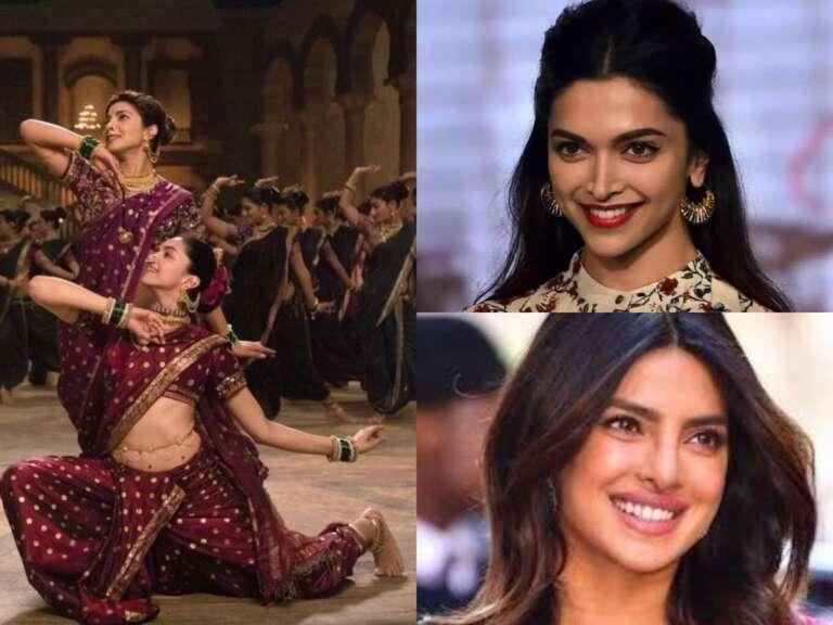 BTS Video Of Priyanka And Deepika Padukone From Dance Track Pinga
