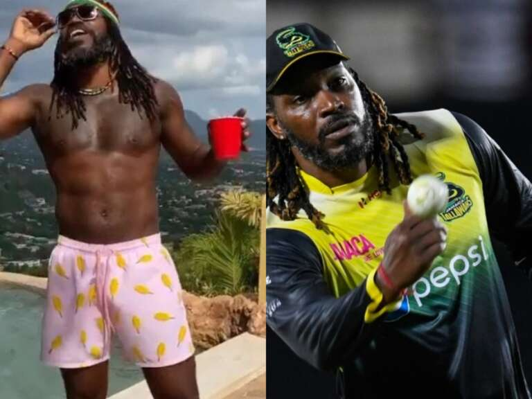 Hilarious: Batsman Chris Gayle Shows His Dance Moves