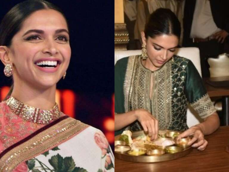 Deepika Padukone Enjoying A Rajasthani Thali: Throwback Photos