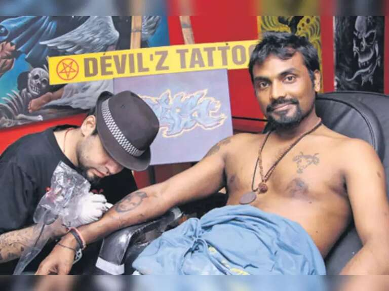 Choreographer Remo D'Souza's Got Inked With Lord Shiva Tattoo