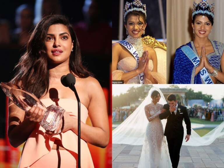 Priyanka Chopra's Iconic Video: 20 Years Journey In Film Industry
