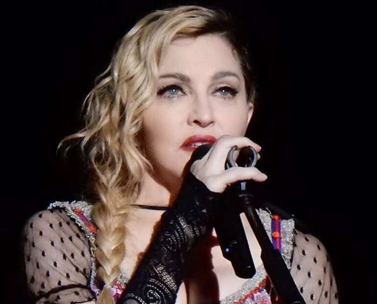 Madonna's Topless Mirror Selfie After Her Knee Surgery