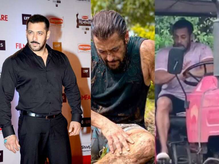 Salman Khan Ploughing The Field: Here's A Glimpse Of His Farm Life
