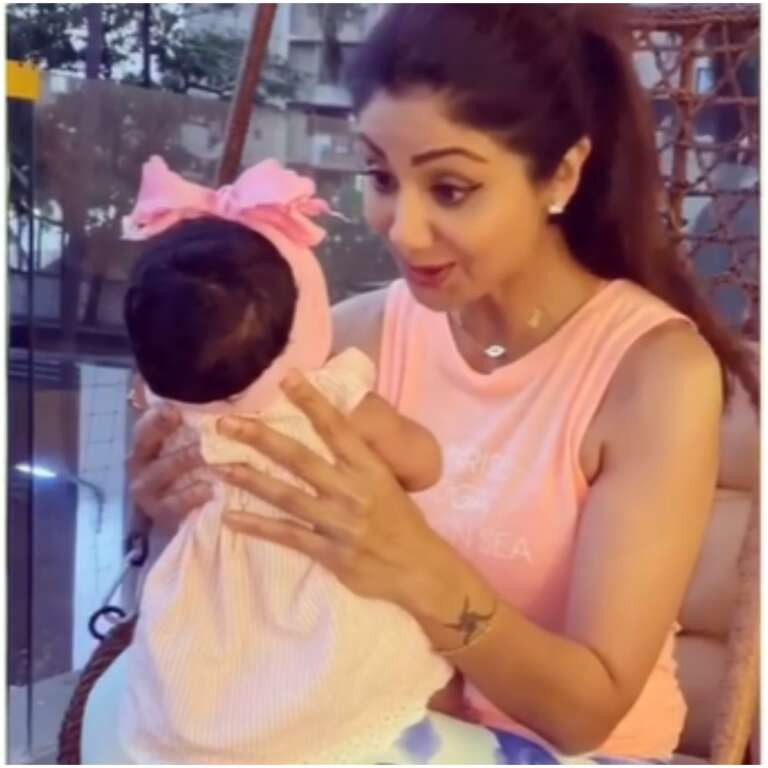 Shilpa Shetty Kundra's Shares A Cute Video of Daughter Samisha