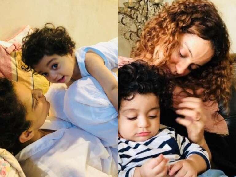 Kangana Ranaut's Adorable Photo With Nephew Prithvi Wins Internet