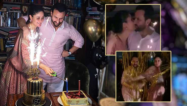 Saif Ali Khan's intimate birthday celebration:  check the inside pictures