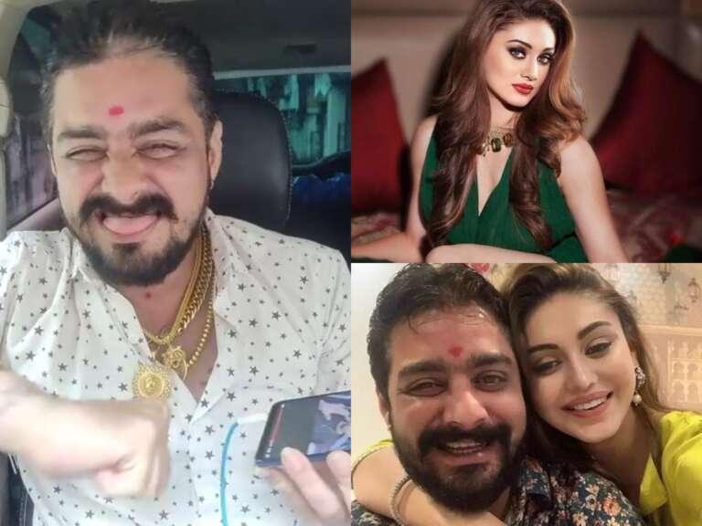 Bigg Boss fame Shefali Jariwala tied Rakhi to Hindustani Bhau