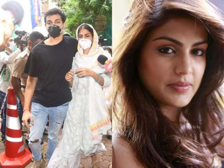 Rhea Chakraborty and her Brother Showik arrives 2nd time for ED interrogation