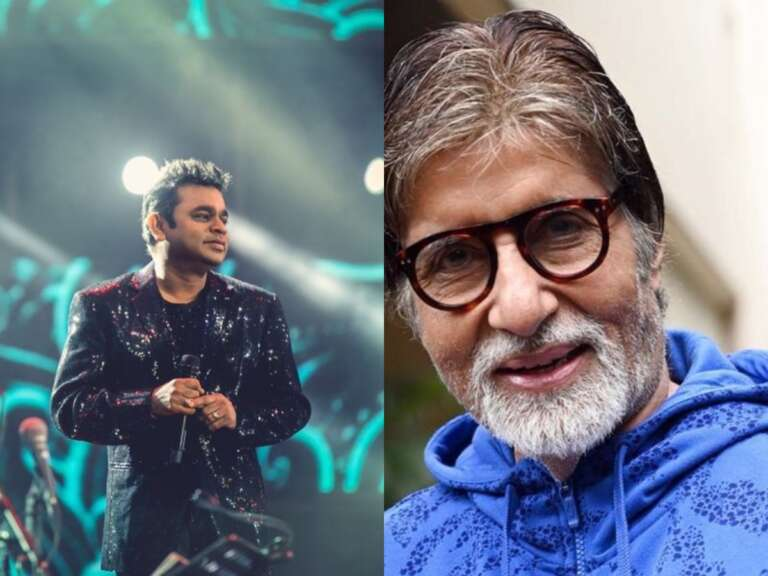 Amitabh Bachchan Sings For AR Rahman In A Musical Film