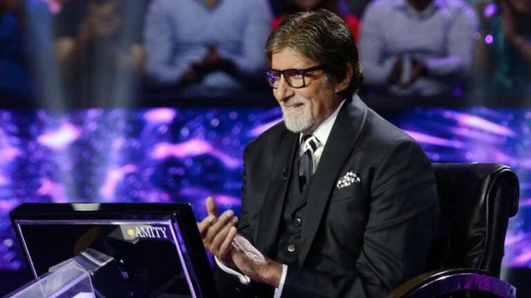 Amitabh Bachchan Gears Up For Kaun Banega Crorepati 12
