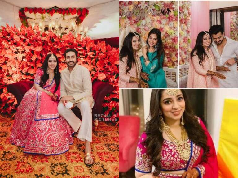 Abhishek Bachchan Attends Nidhi Dutta's Engagement: See Viral Pics