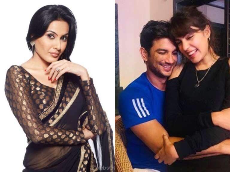 Kamya Punjabi questions on Rhea's  chat with Sushant Singh Rajput