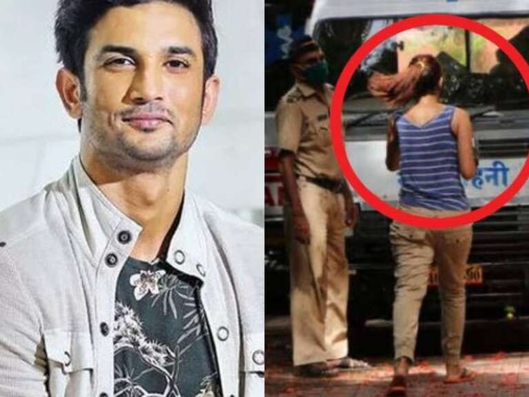 'Mystery Woman' Spotted at Sushant Residence After His Death