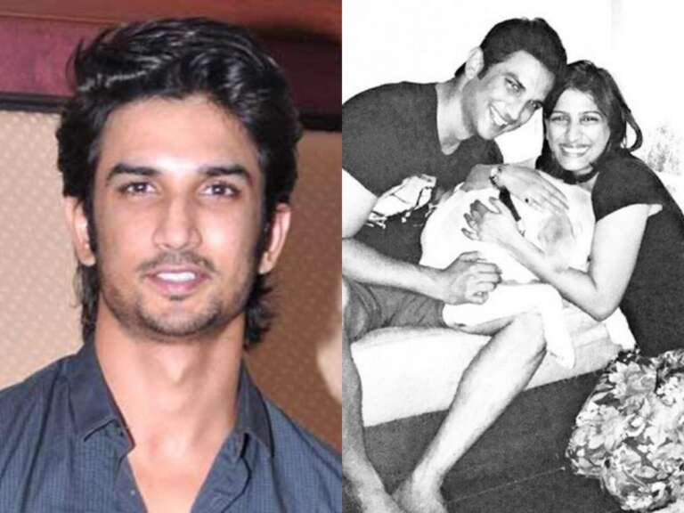 Sushant's sister Priyanka and brother in law scolding his staff: Viral video