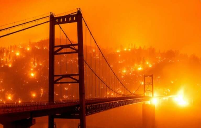 California Burning! Massive Wildfire Across US State Caused Havoc