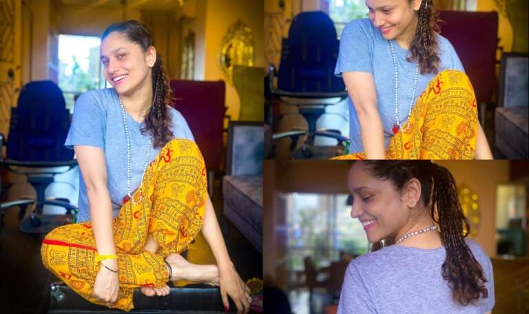 Fans Got Angry At Ankita Lokhande's Dress, Said- 'At least don't insult the God'
