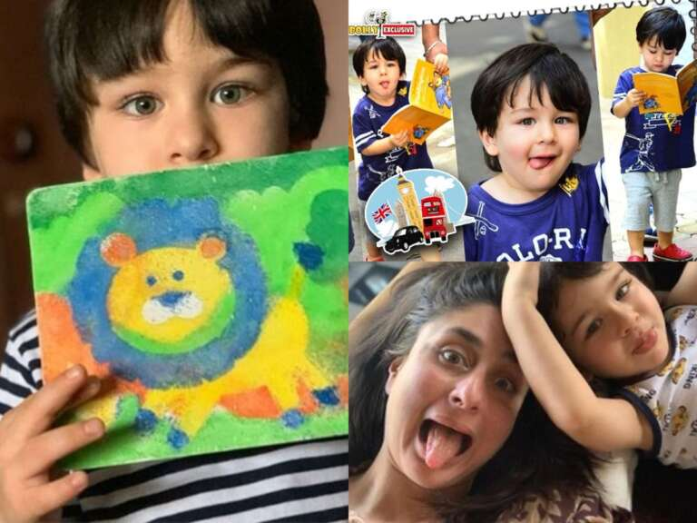Kareena Kapoor Khan Gushed Over On Her Son Taimur's New Painting
