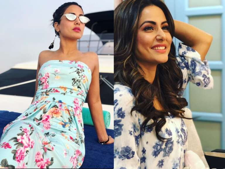 Hina Khan's Floral Outfits Is Something You Can't-Miss Out