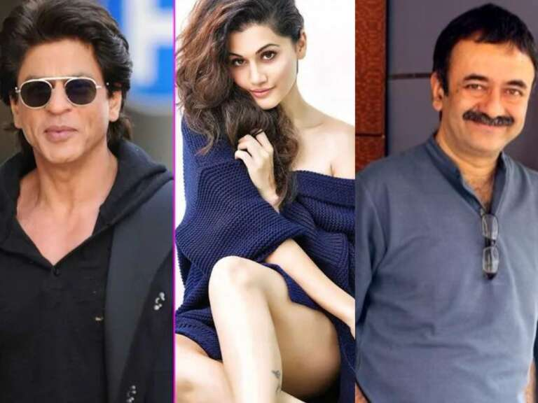 Shahrukh And Taapsee Heads For A Big Reunion In A Social Comedy